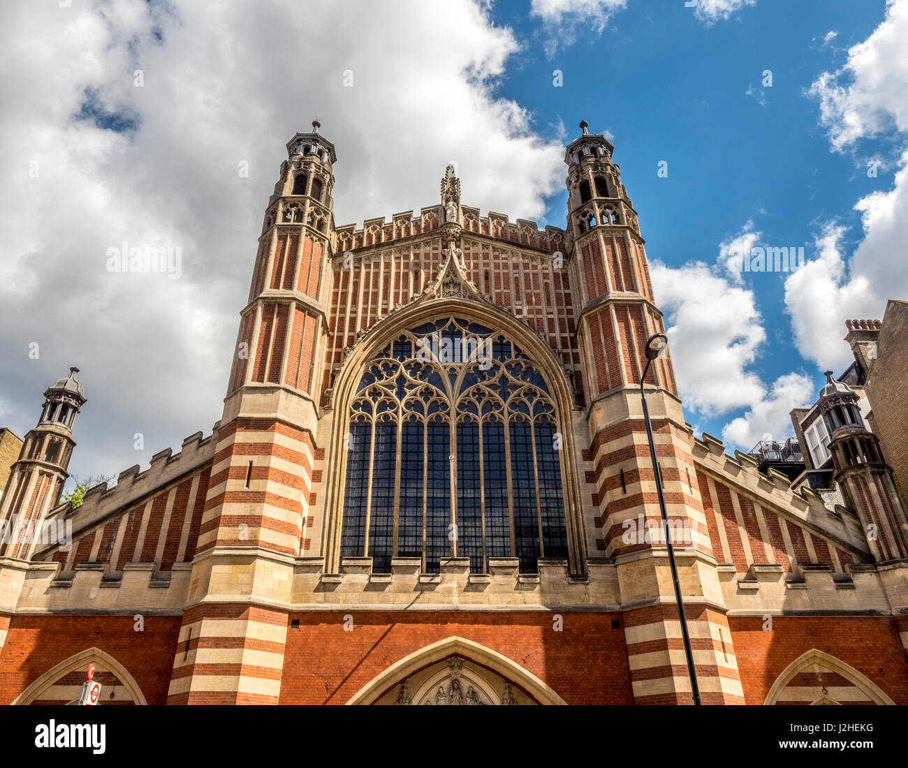 Holy Trinity Sloane Street (The Church of the Holy and Undivided Trinity with Saint Jude, Upper Chelsea, sometimes - Stock Image
