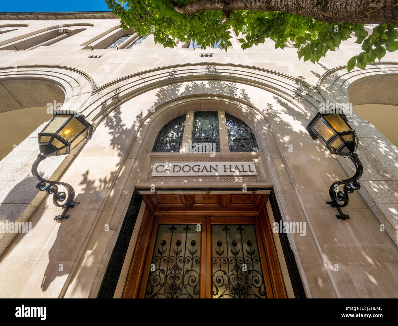 Cadogan Gall, London, UK. - Stock Image