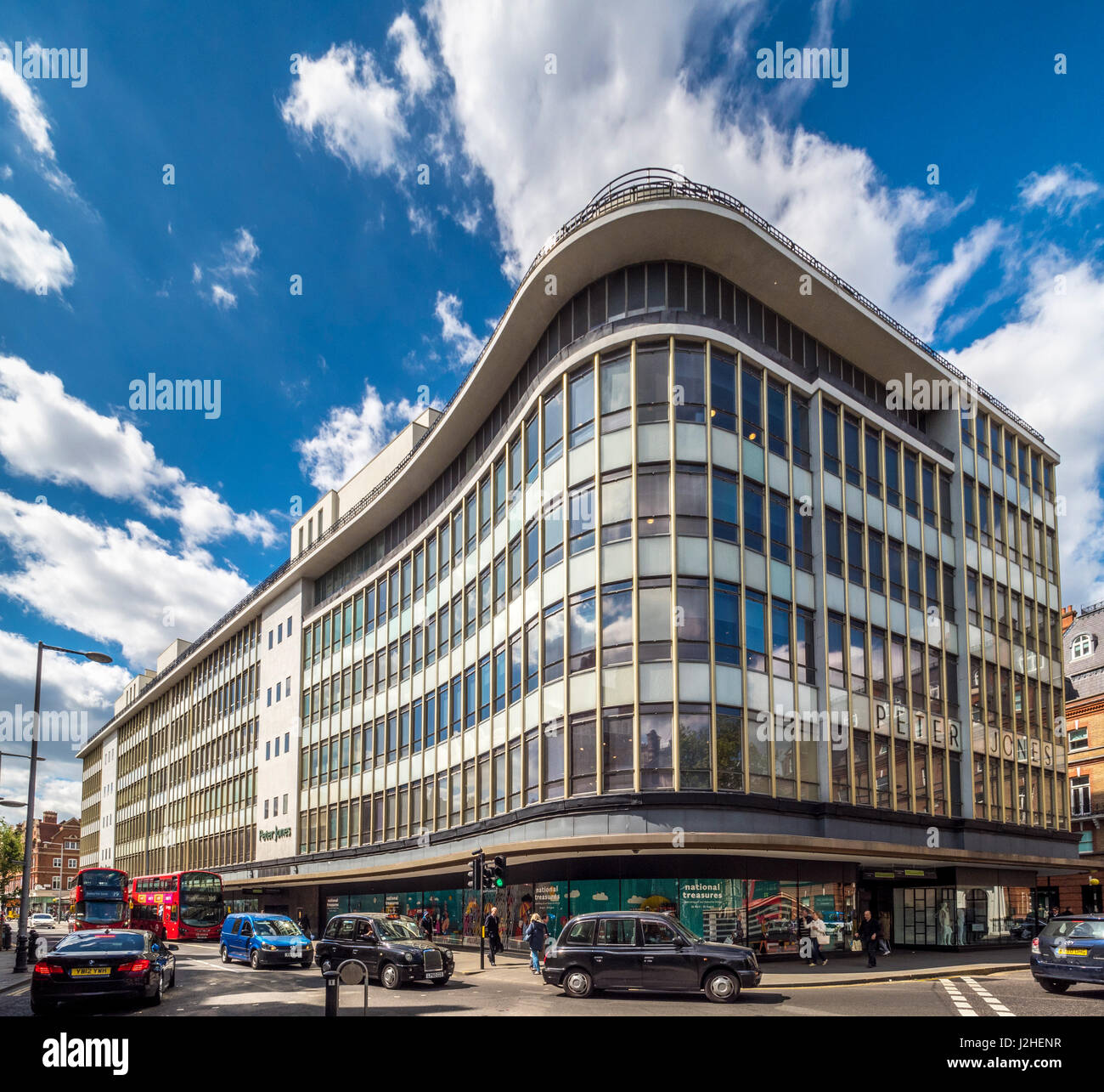 Peter Jones Department store, Sloane Square, London, UK. - Stock Image