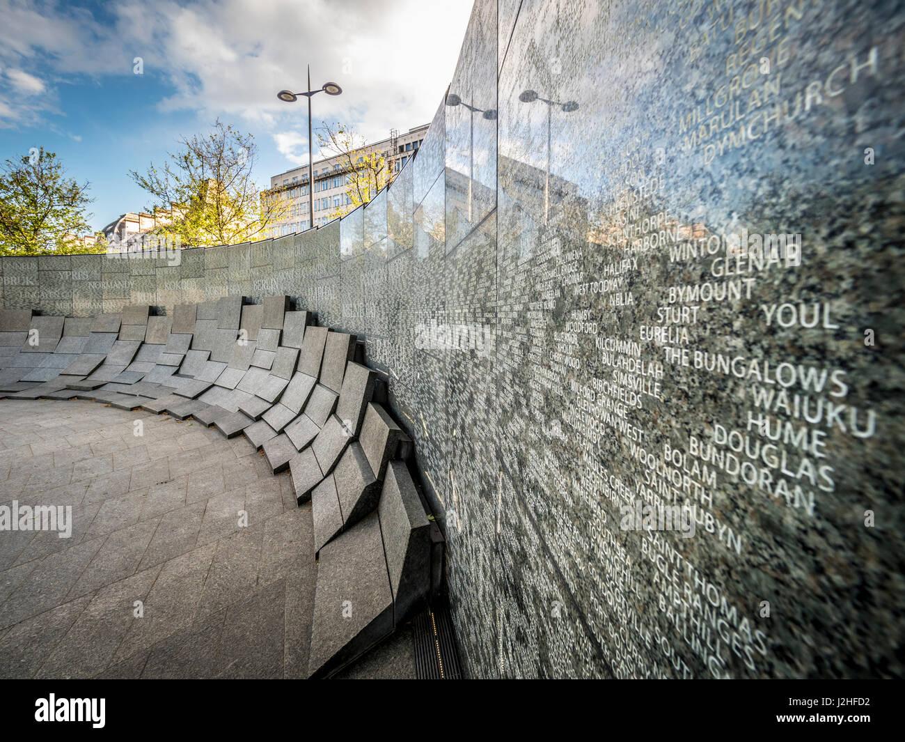 Australian War Memorial, Hyde Park Corner, London, UK. - Stock Image