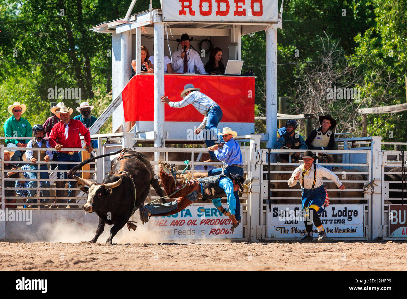 Rodeo Clown And Bull Rider Stock Photos Amp Rodeo Clown And