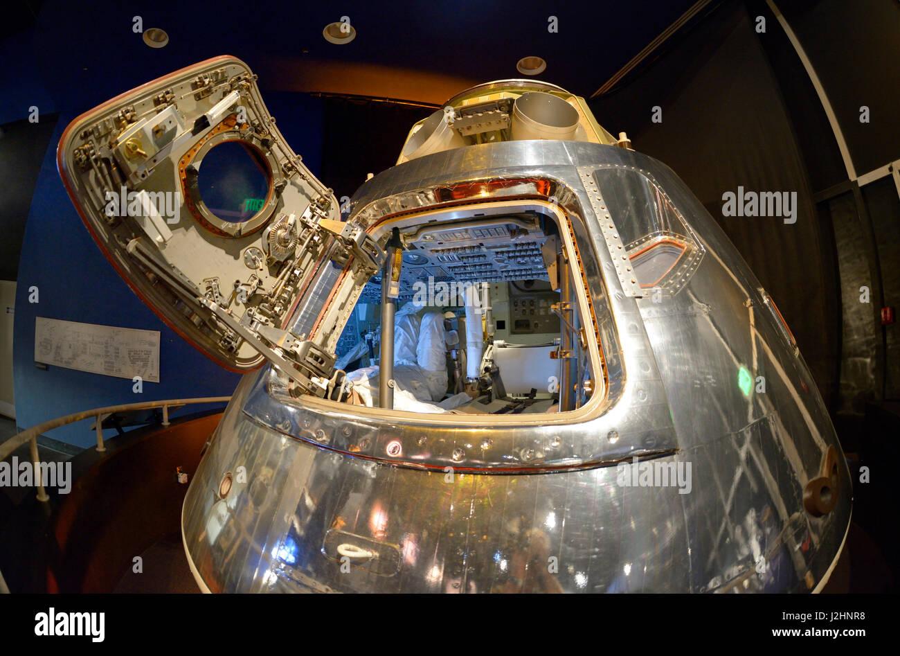Seattle. North American Aviation Apollo Command Module ...
