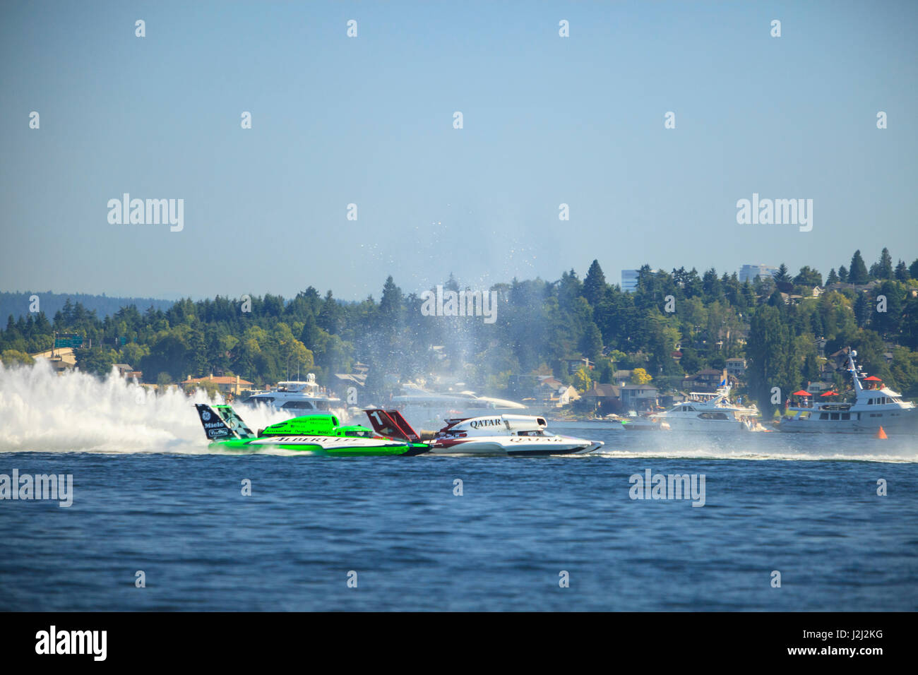 H1 Unlimited Class Hydroplane Racing, Lake Washington