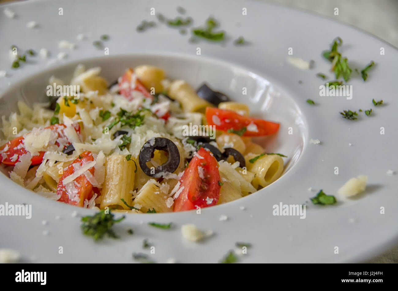 italian food - Stock Image