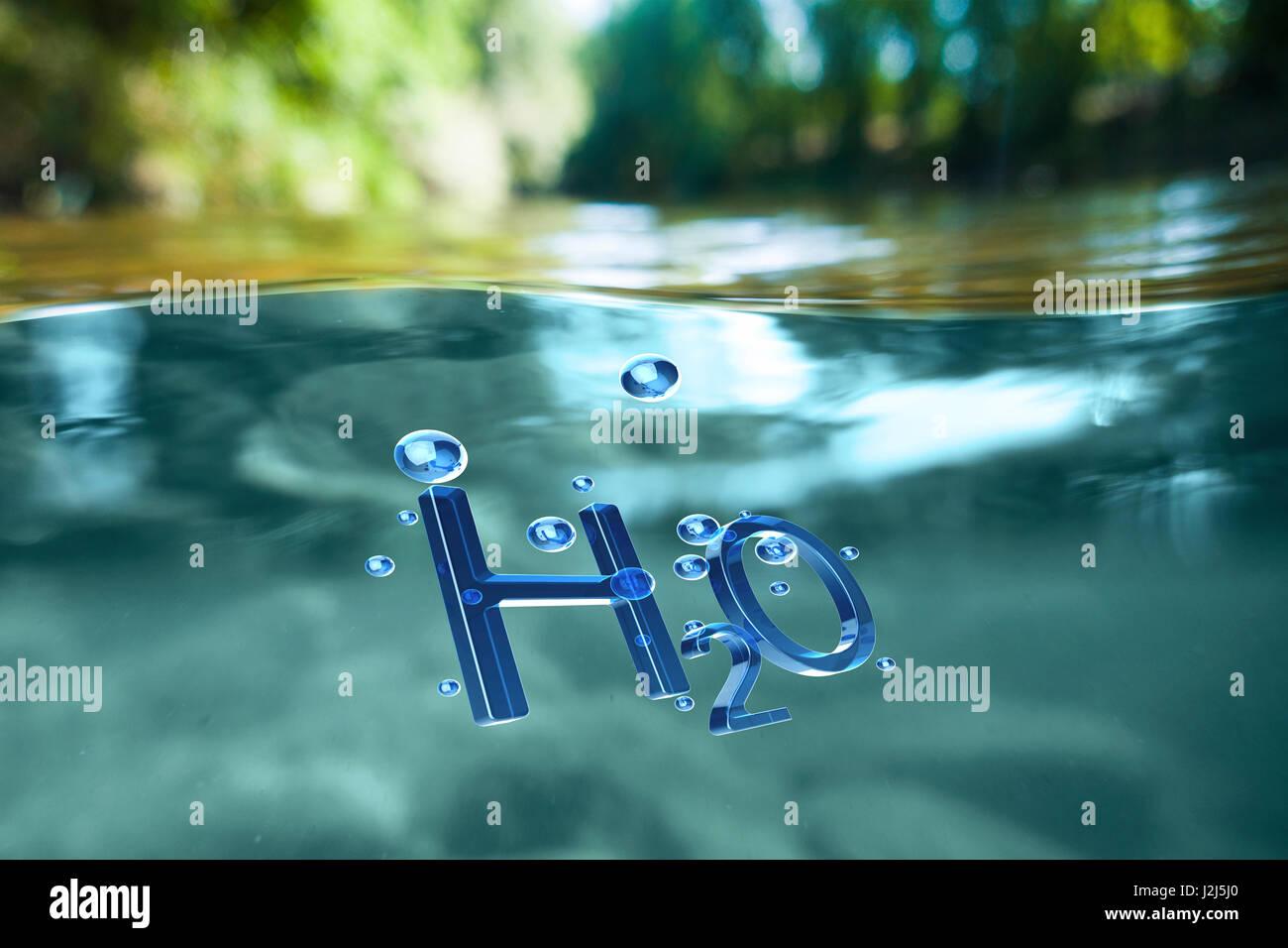 H2o Chemical Symbol Stock Photos H2o Chemical Symbol Stock Images