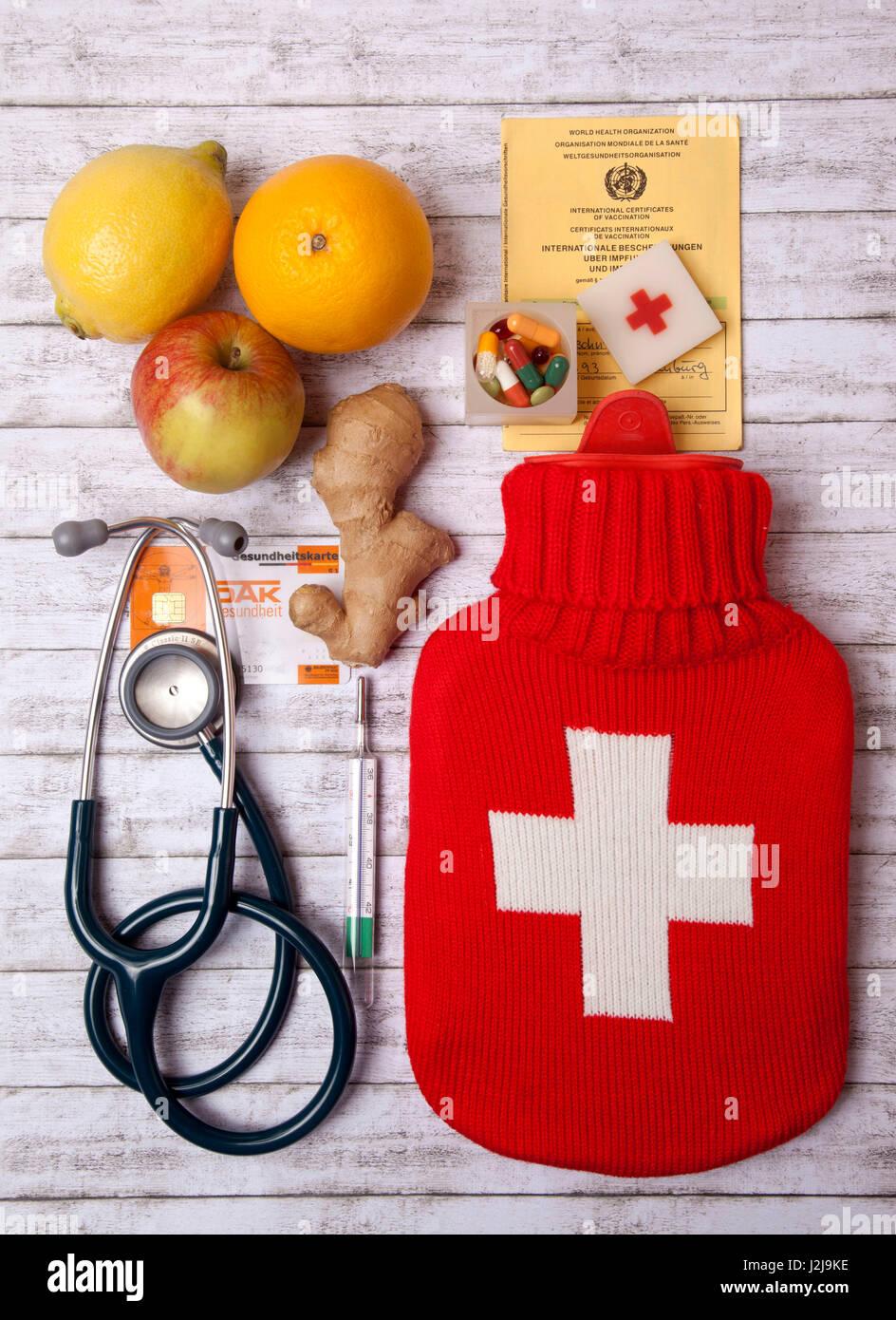 Precaution, medicine, health, public health - Stock Image