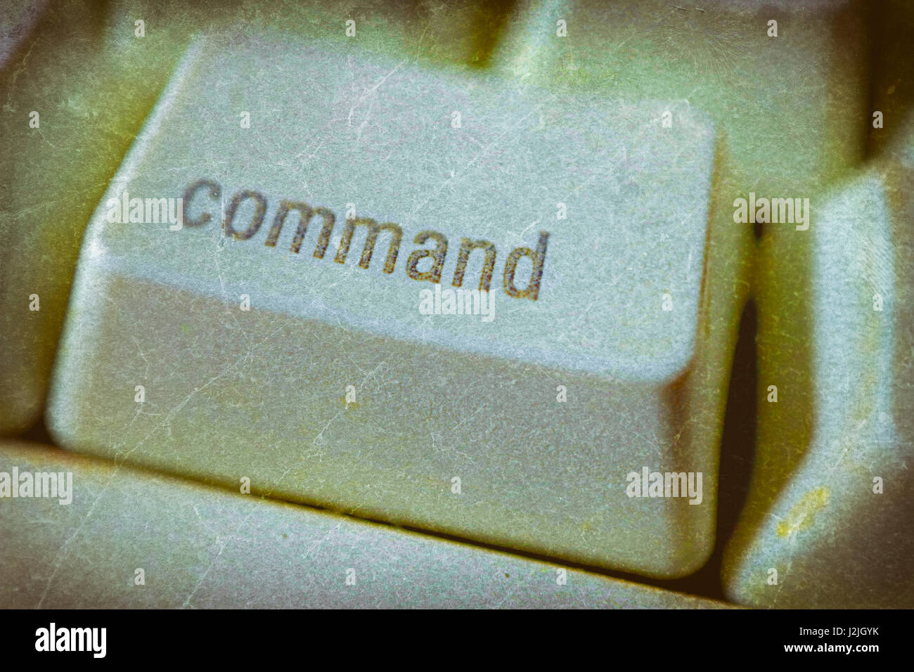 Command key on a computer keyboard. - Stock Image