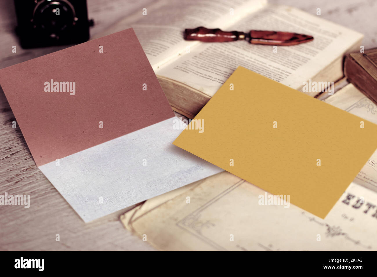 Vintage mockup of business card and blank envelope with copyspace vintage mockup of business card and blank envelope with copyspace reheart Gallery