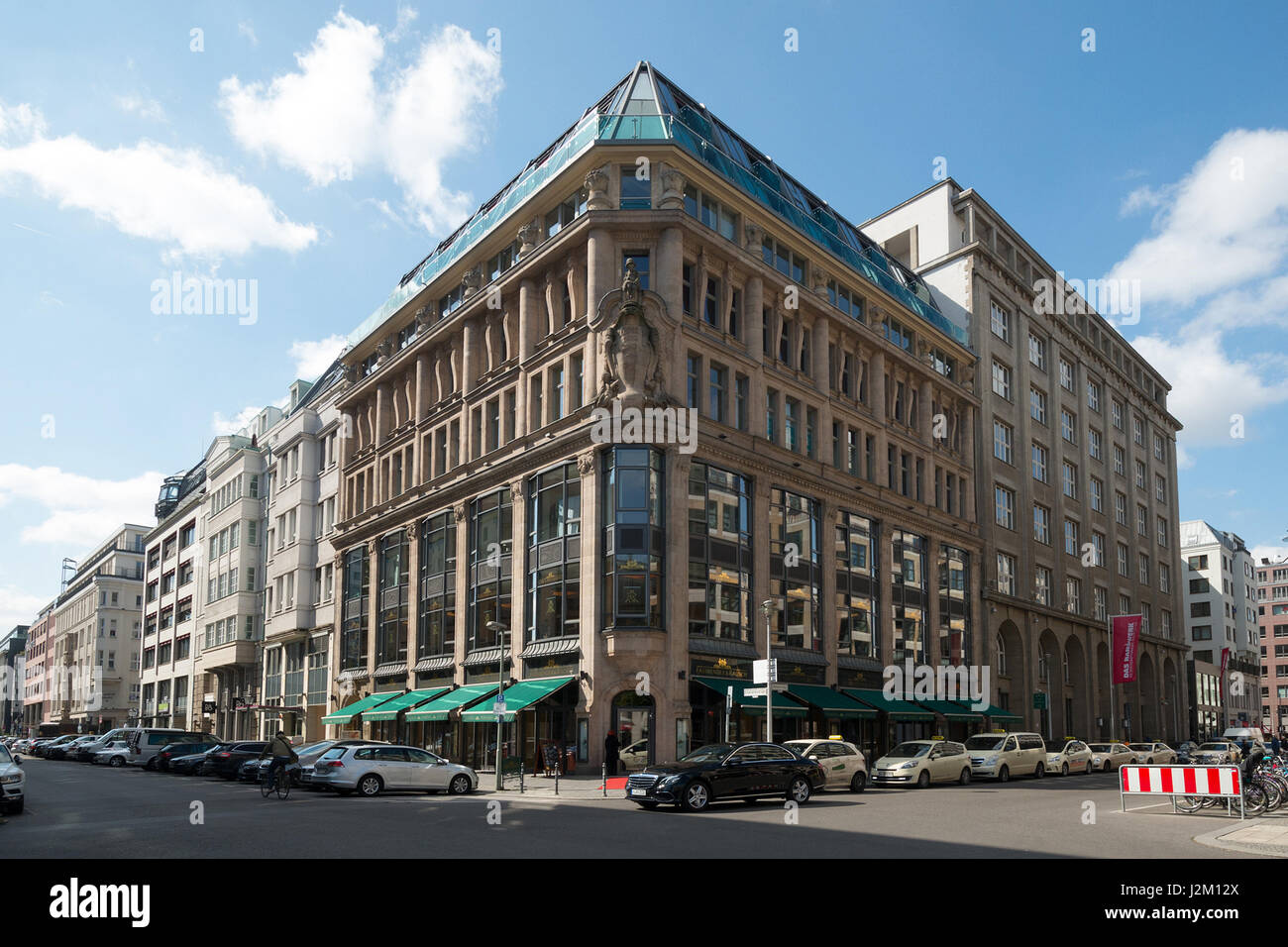 The family-run company Rausch house at gendarmenmarkt berlin since 1999 has been making delectable chocolates  since - Stock Image