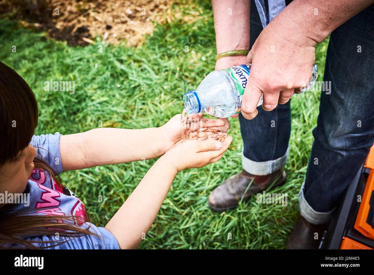 Year Old Child Washing Hands Stock Photos & Year Old Child Washing ...
