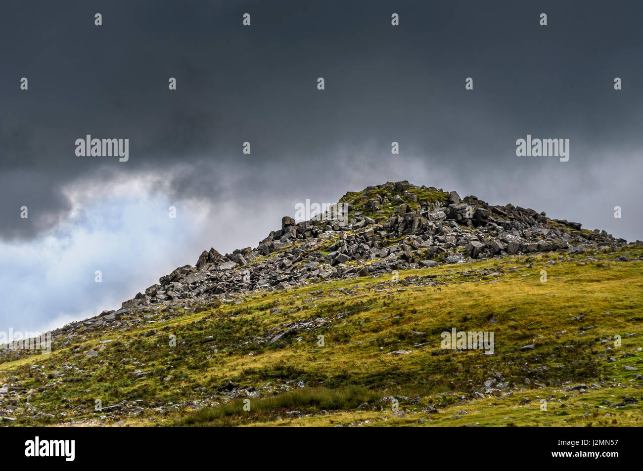 Sharpitor on Dartmoor, Devon UK - Stock Image