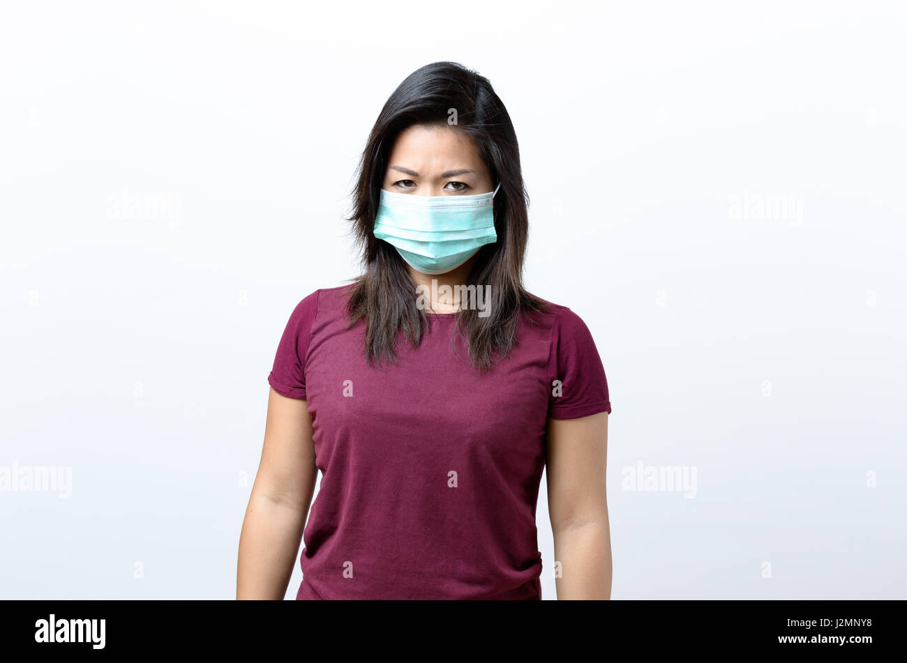 disposable air pollution face mask