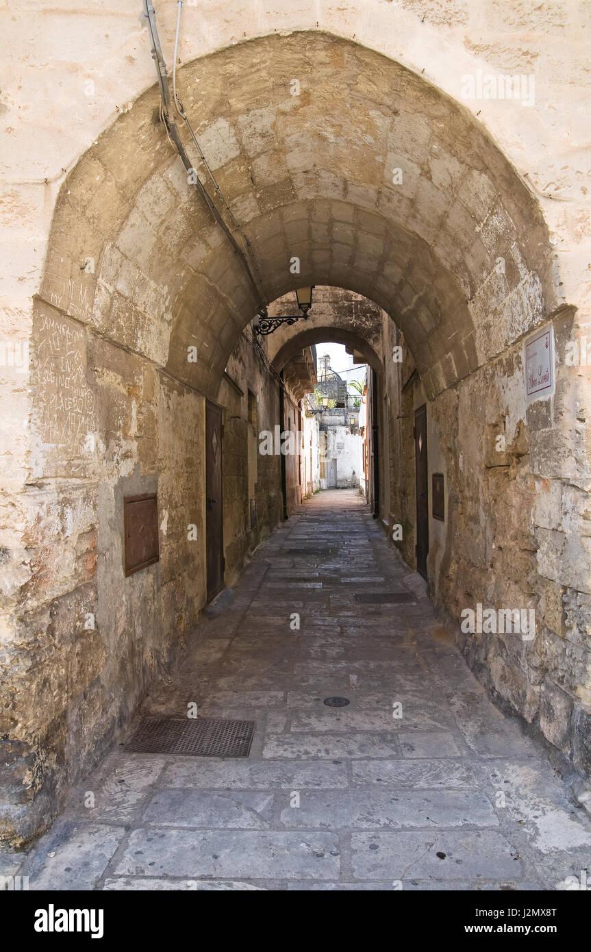 Arco Loreto. Francavilla Fontana. Puglia. Italy. - Stock Image
