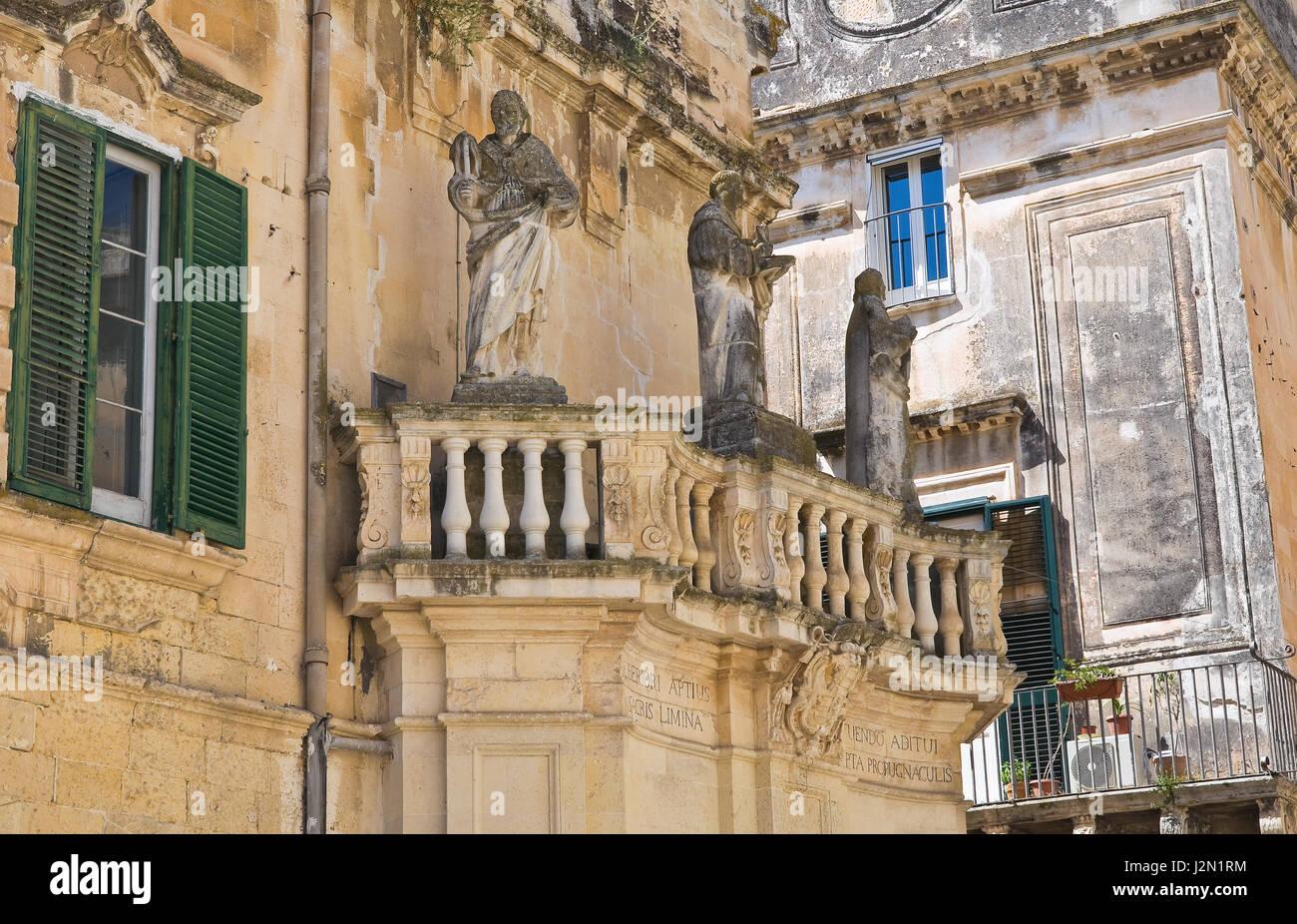 Propylaea. Lecce. Puglia. Italy. - Stock Image
