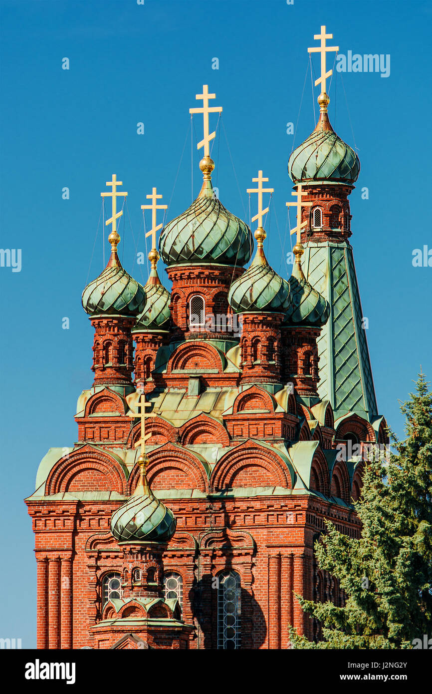 Russian Orthodox Church in Tampere (Finland) - Stock Image