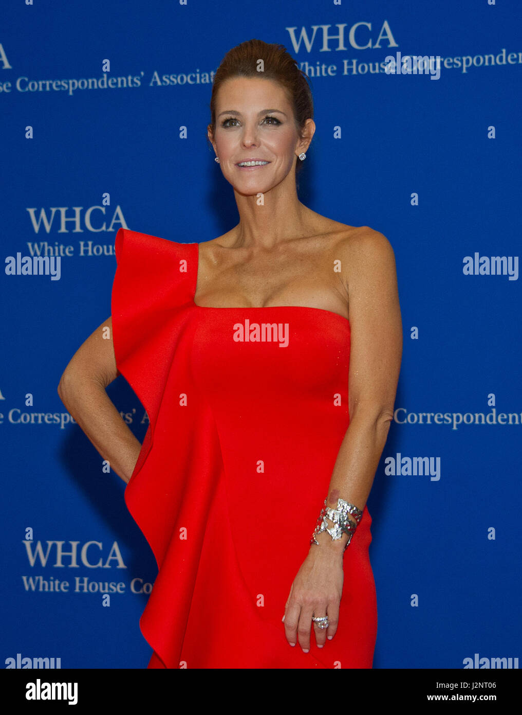 Anchor Of Msnbc Live Stephanie Ruhle Arrives For The 2017