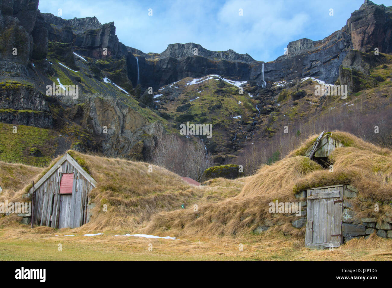 Lomagnupur, Iceland - Stock Image
