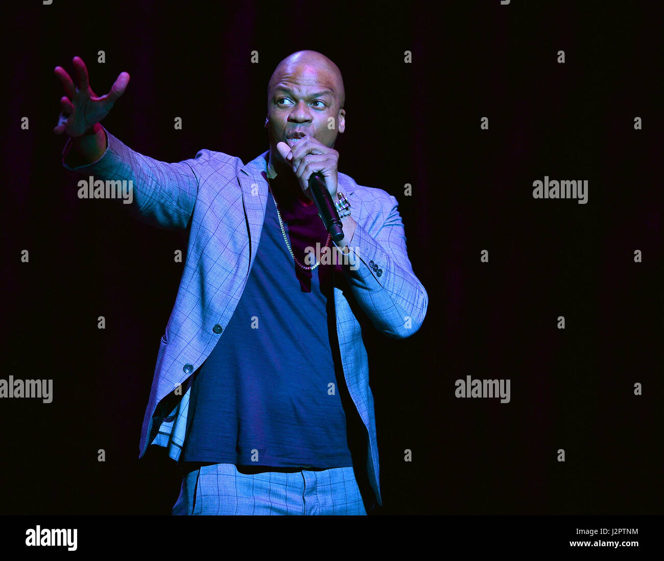 Ardie Fuqua performing at Hard Rock Live at Seminole Hard Rock Hotel & Casino in Hollywood  Featuring: Ardie - Stock Image
