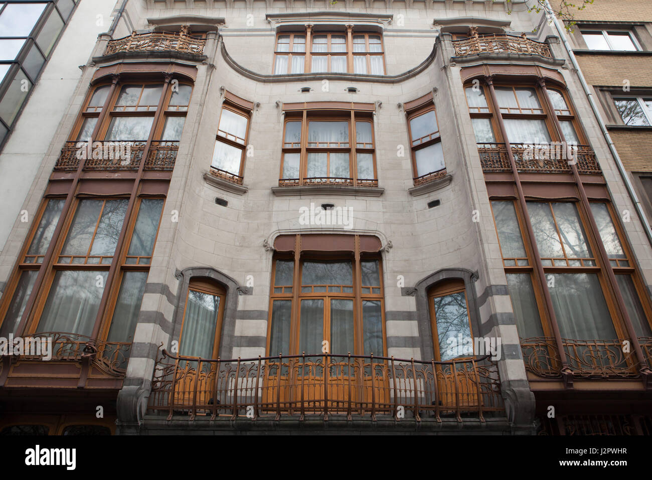 Hotel Solvay in Brussels Belgium The townhouse
