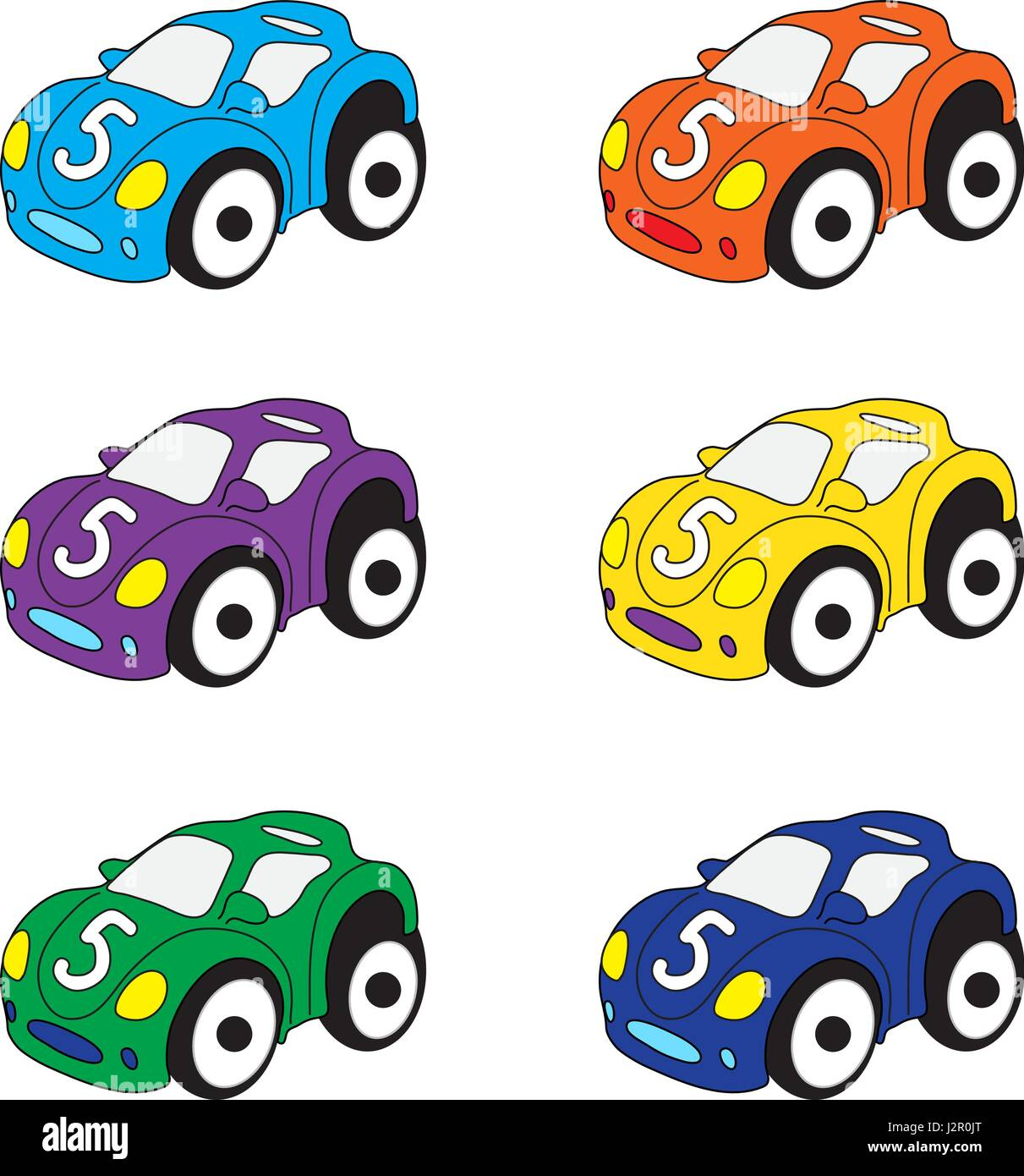 Cartoon Cars High Resolution Stock Photography And Images Alamy