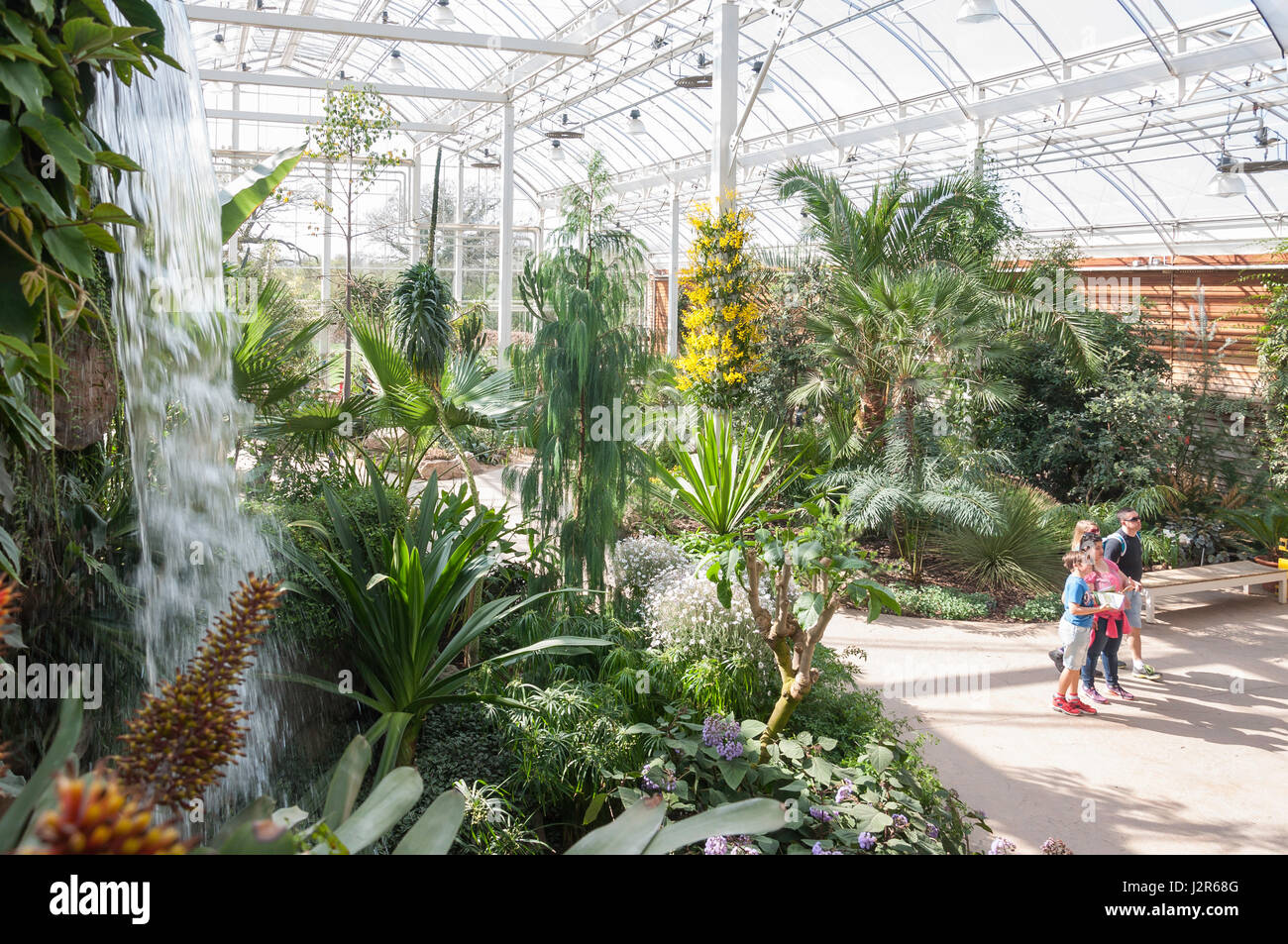 The Glasshouse at The Royal Horticultural Society's garden at Wisley, Wisley, Surrey, England, United Kingdom Stock Photo