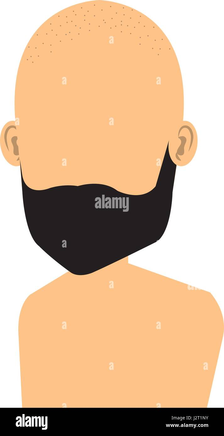 Bald Man Avatar Icon Stock Photos & Bald Man Avatar Icon