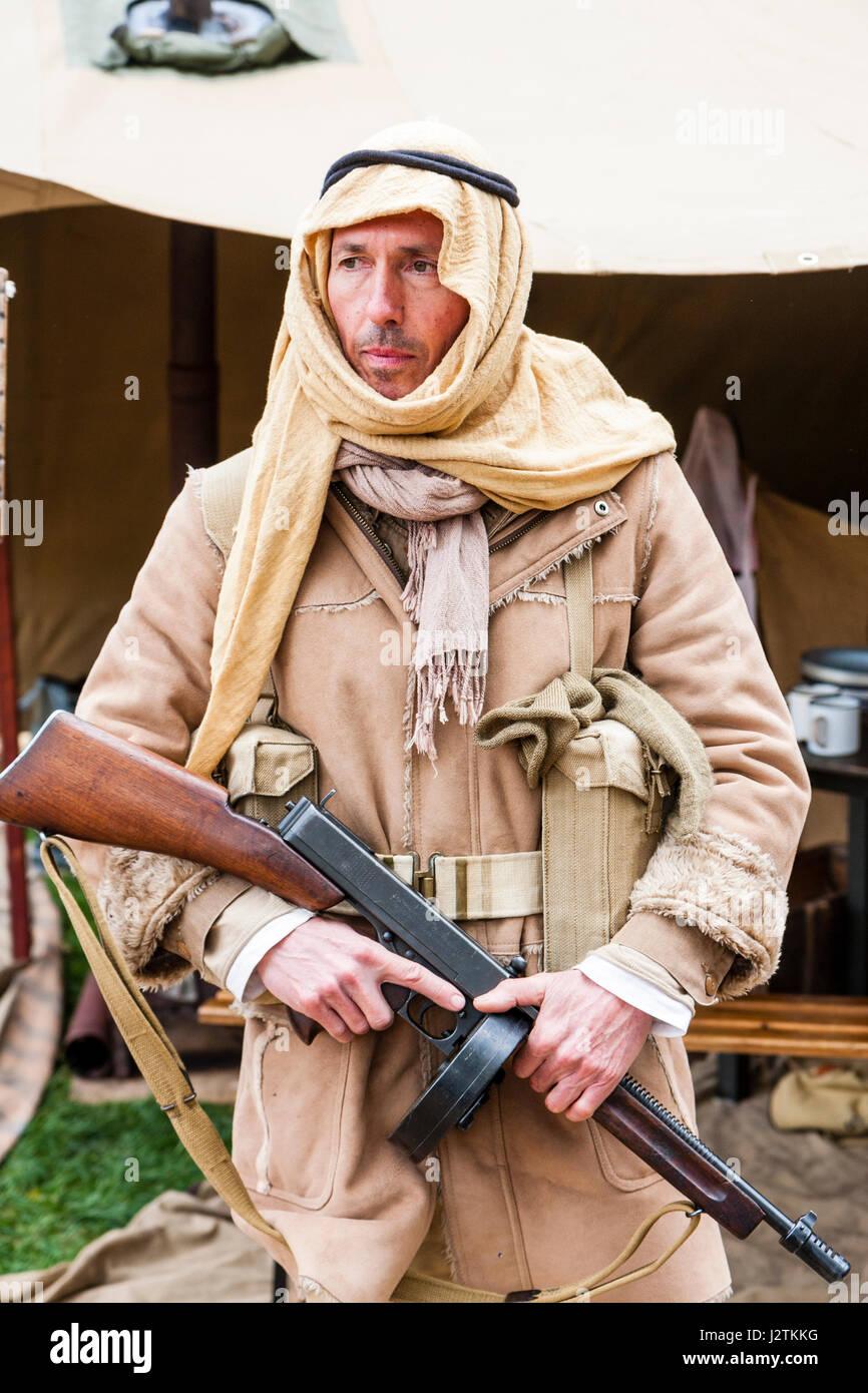 Ww2 British Soldier Uniform Stock Photos & Ww2 British