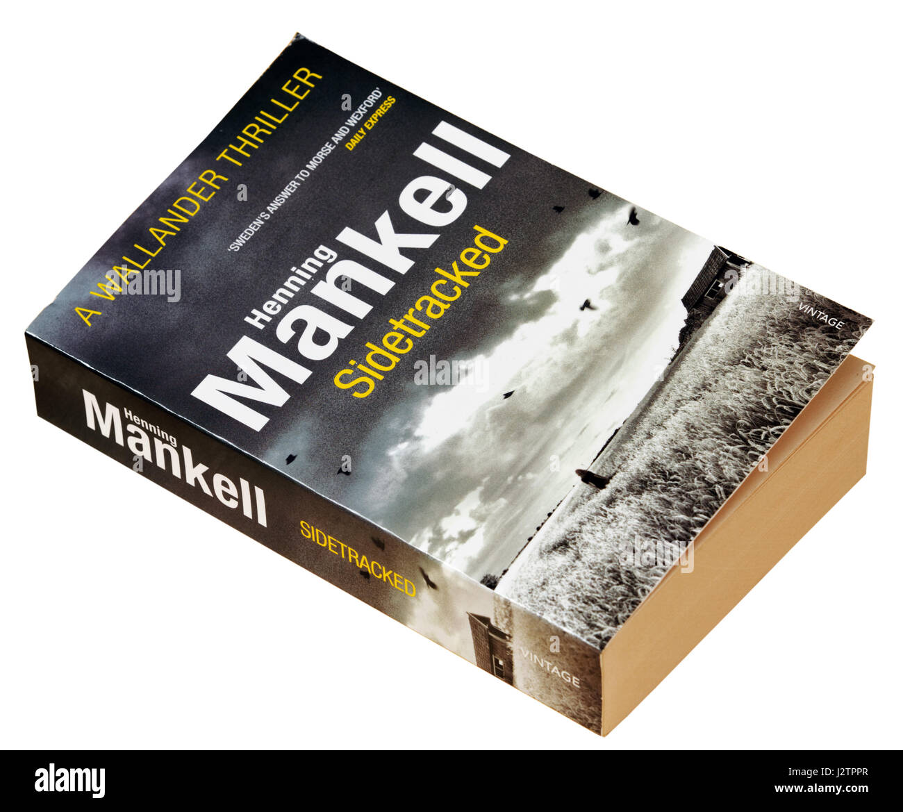 Sidetracked  by Henning Mankell - A detective Wallander story - Stock Image