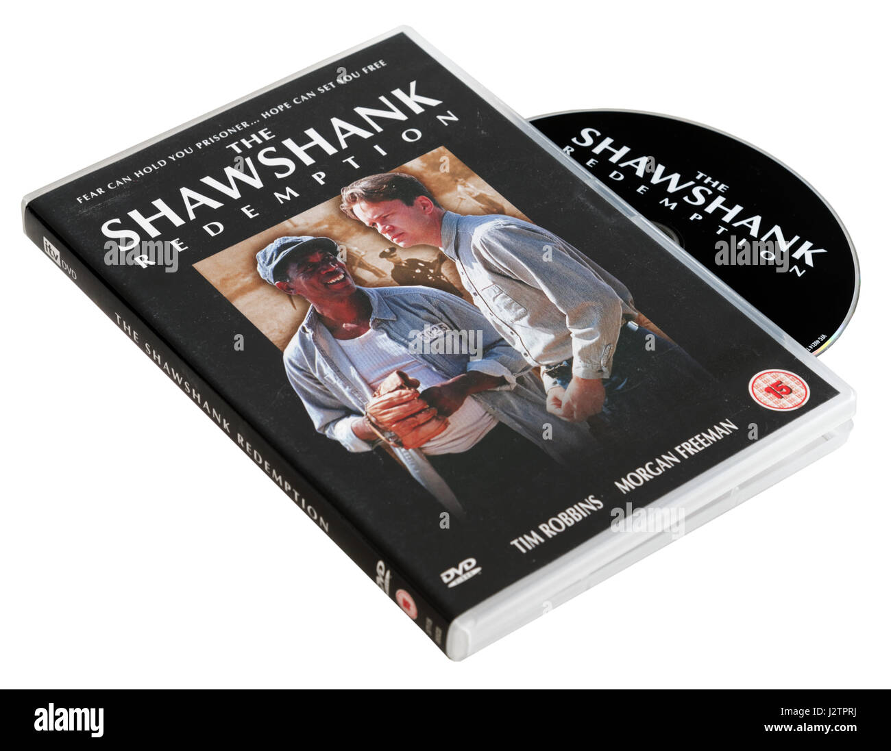 The Shawshank Redemption DVD - Stock Image