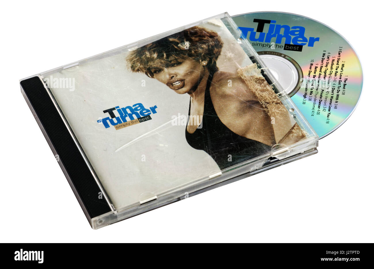 Simply The Best by Tina Turner - Stock Image