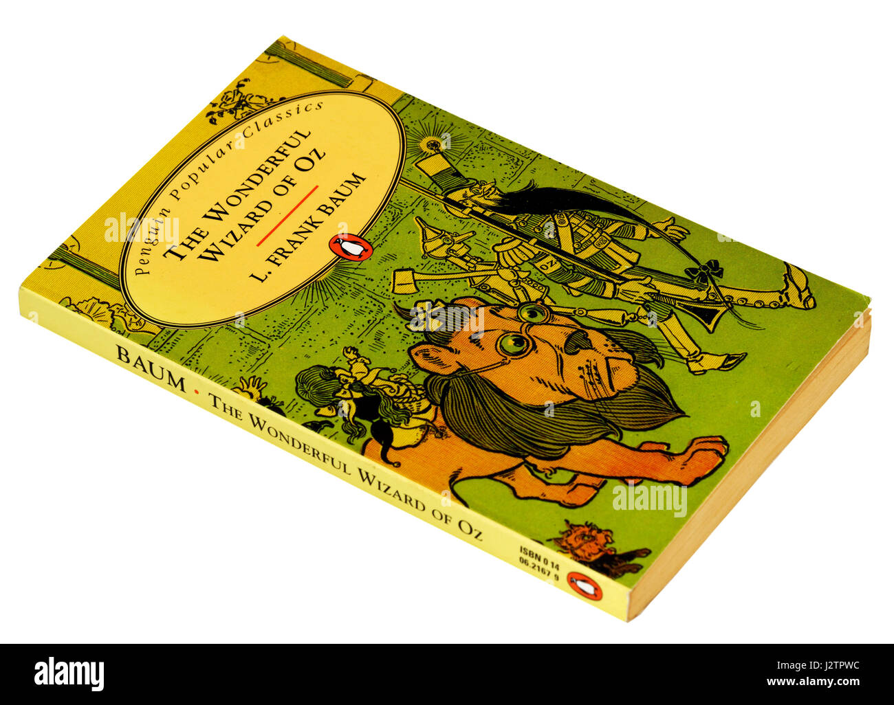 The Wonderful Wizard of Oz by L. Frank Baum - Stock Image