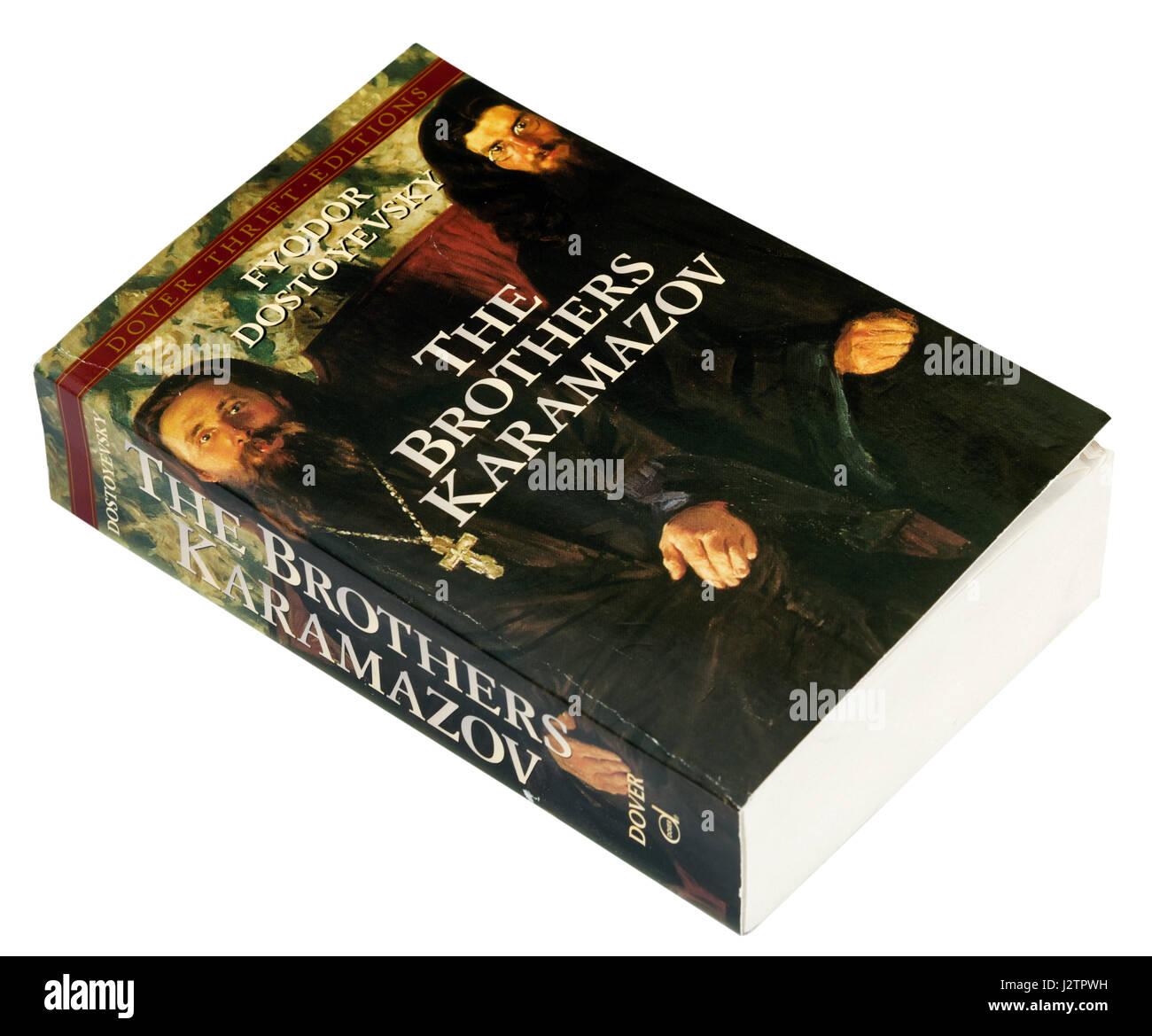 The Brothers Karamazov by Fyodr Dostoyevsky - Stock Image
