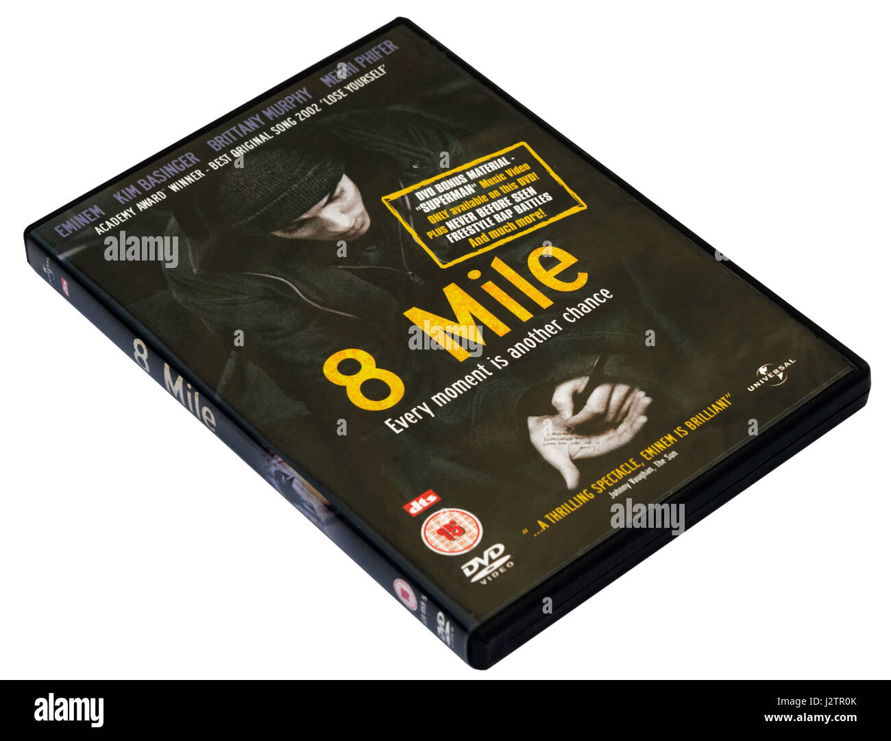 Eminem's film 8 Mile DVD - Stock Image