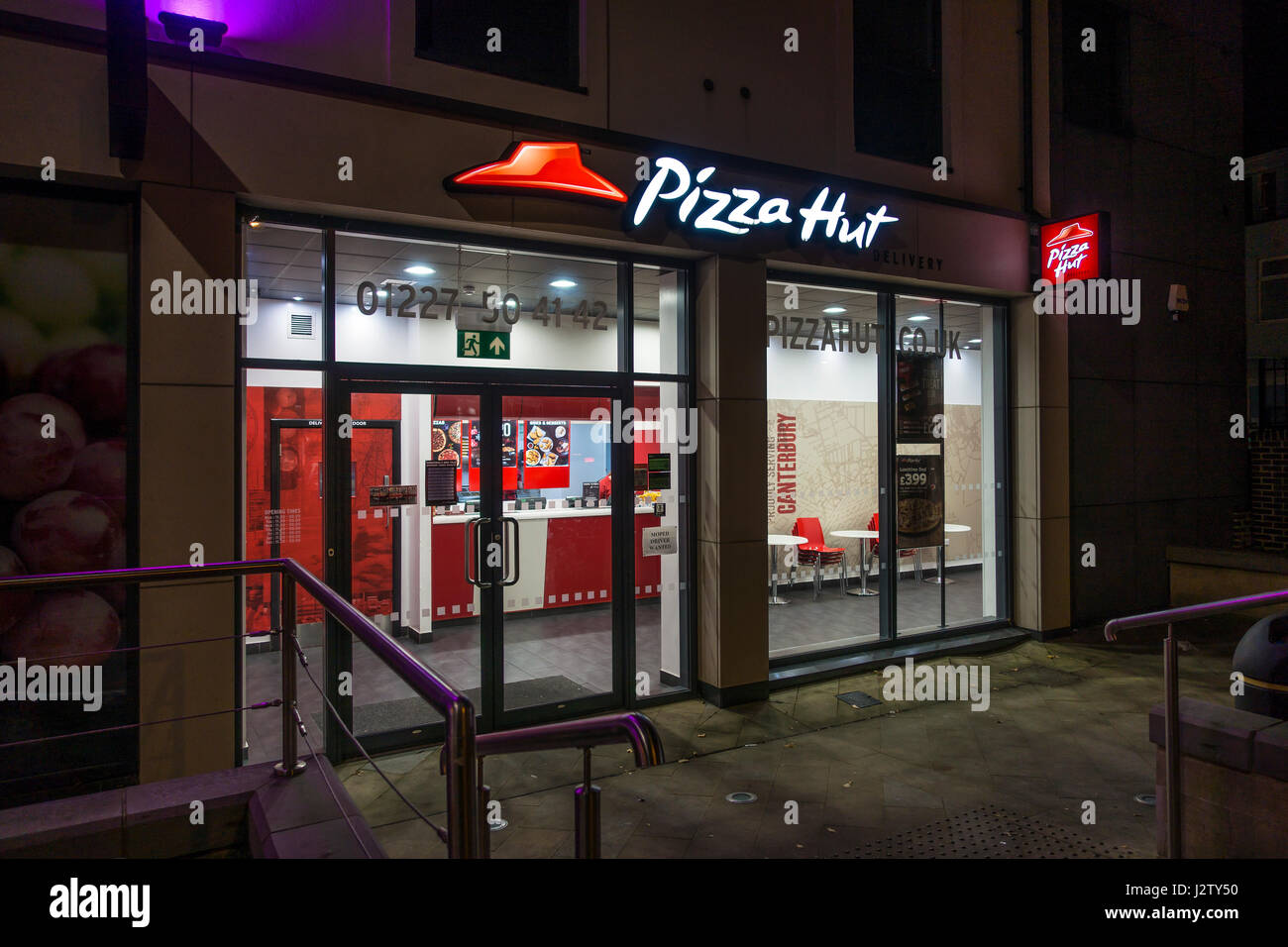 Pizza Hut Takeaway Delivery Centre New Dover Road Canterbury