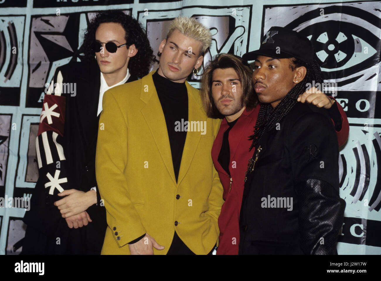 Color Me Badd At The 1991 MTV Video Music Awards In New York City C Scott Weiner MediaPunch