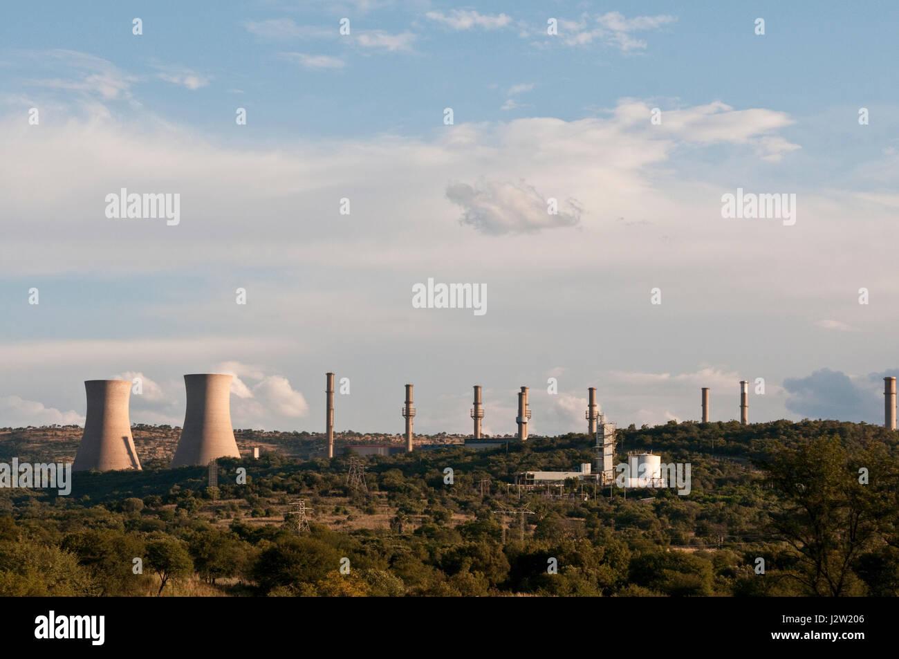 Pelindaba Nuclear Energy Hartebeespoort North West Province South Africa Stock Photo