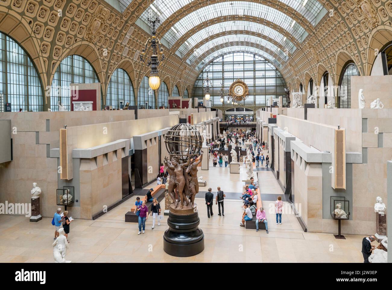 Musée d'Orsay, Paris, France - Stock Image