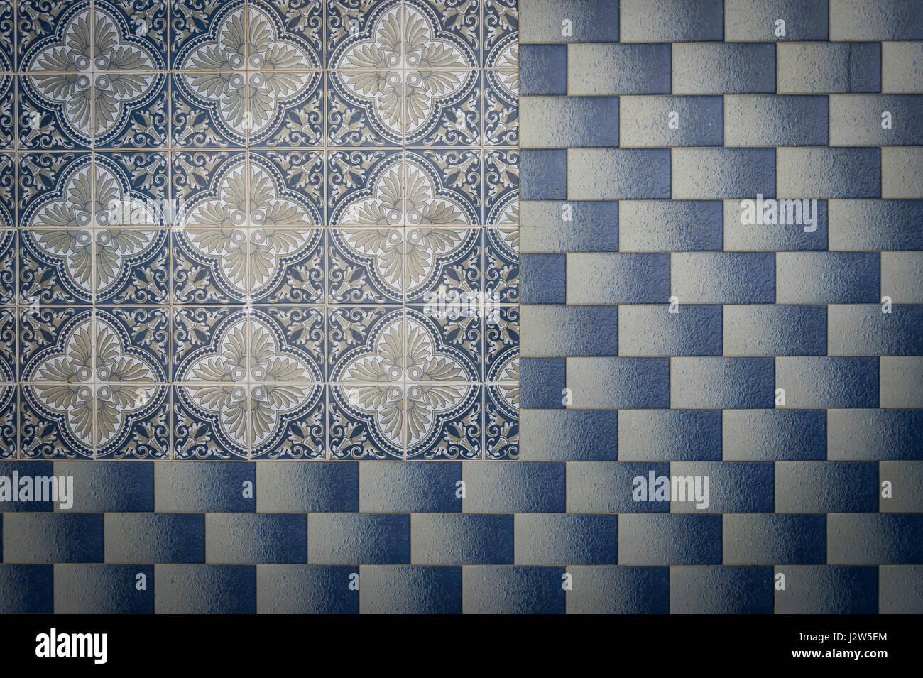 Portuguese ceramic tiles in geometric patterns on the outside of a portuguese ceramic tiles in geometric patterns on the outside of a building dailygadgetfo Gallery