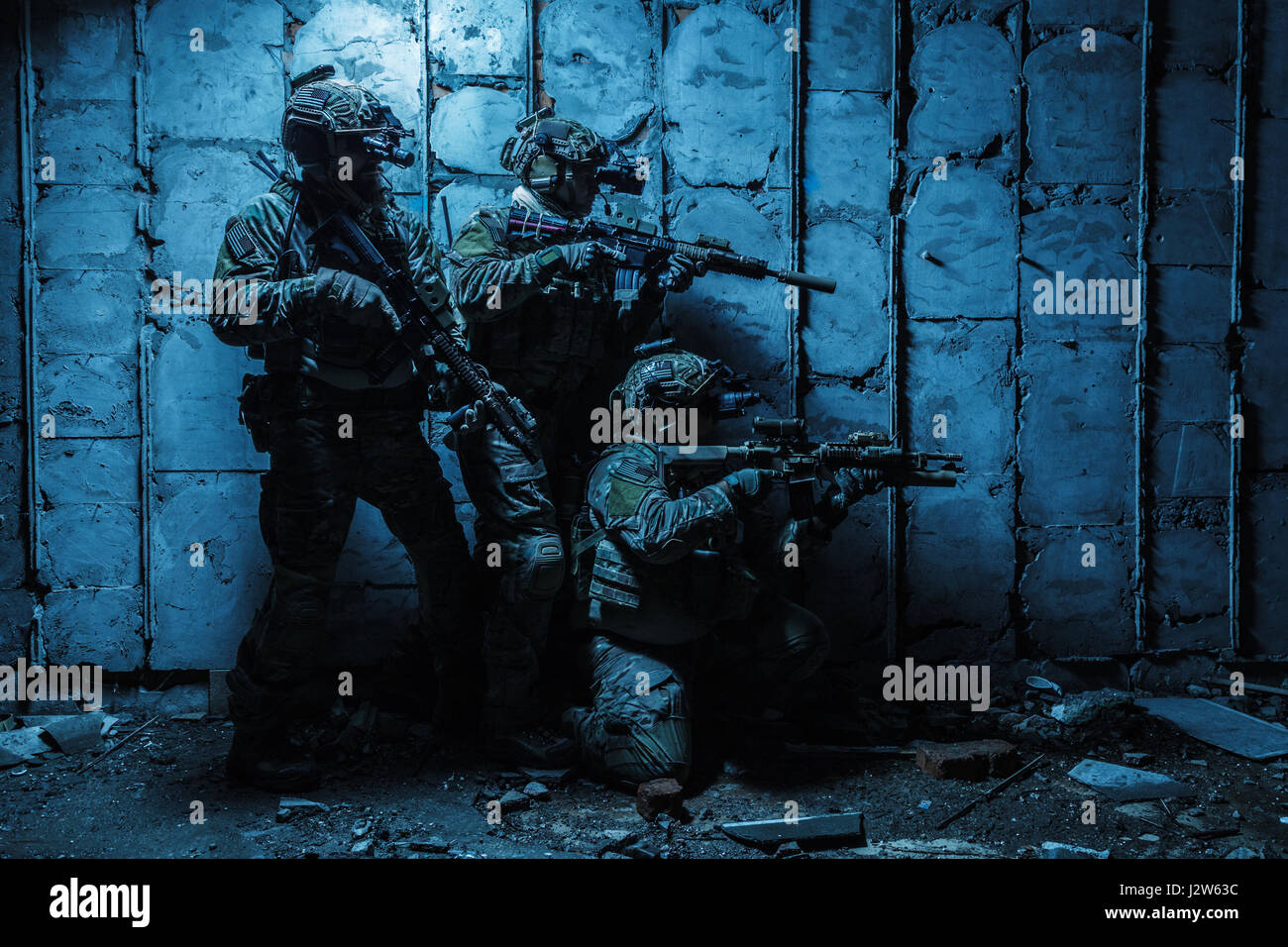 Army Ranger in field Uniforms - Stock Image