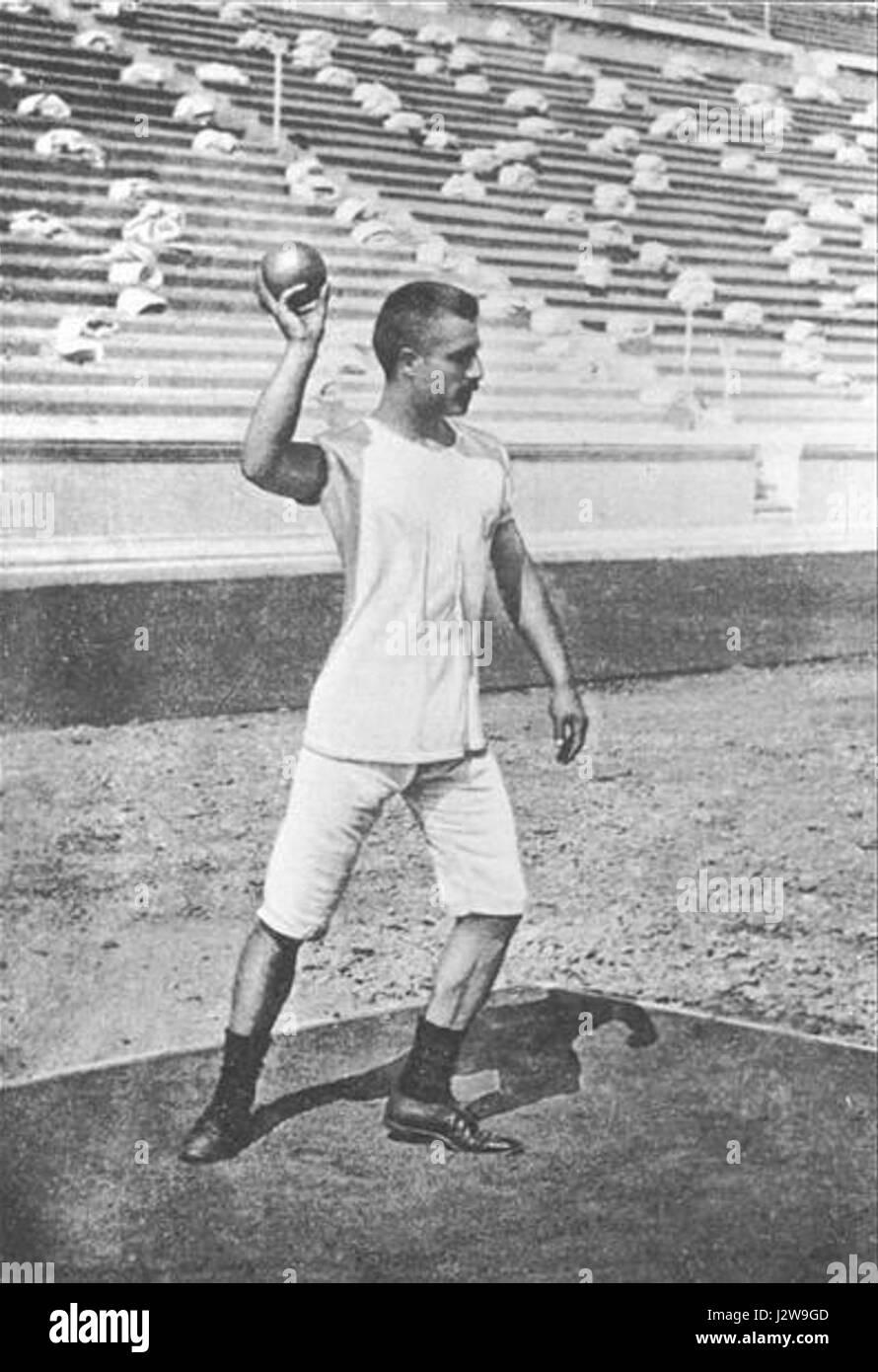1896 Summer Olympics - Shot pu...