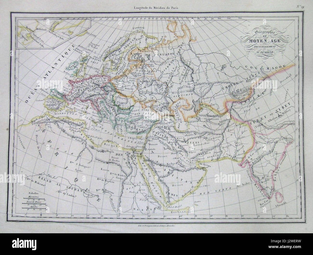 Middle Ages Europe Map Stock Photos Middle Ages Europe Map Stock