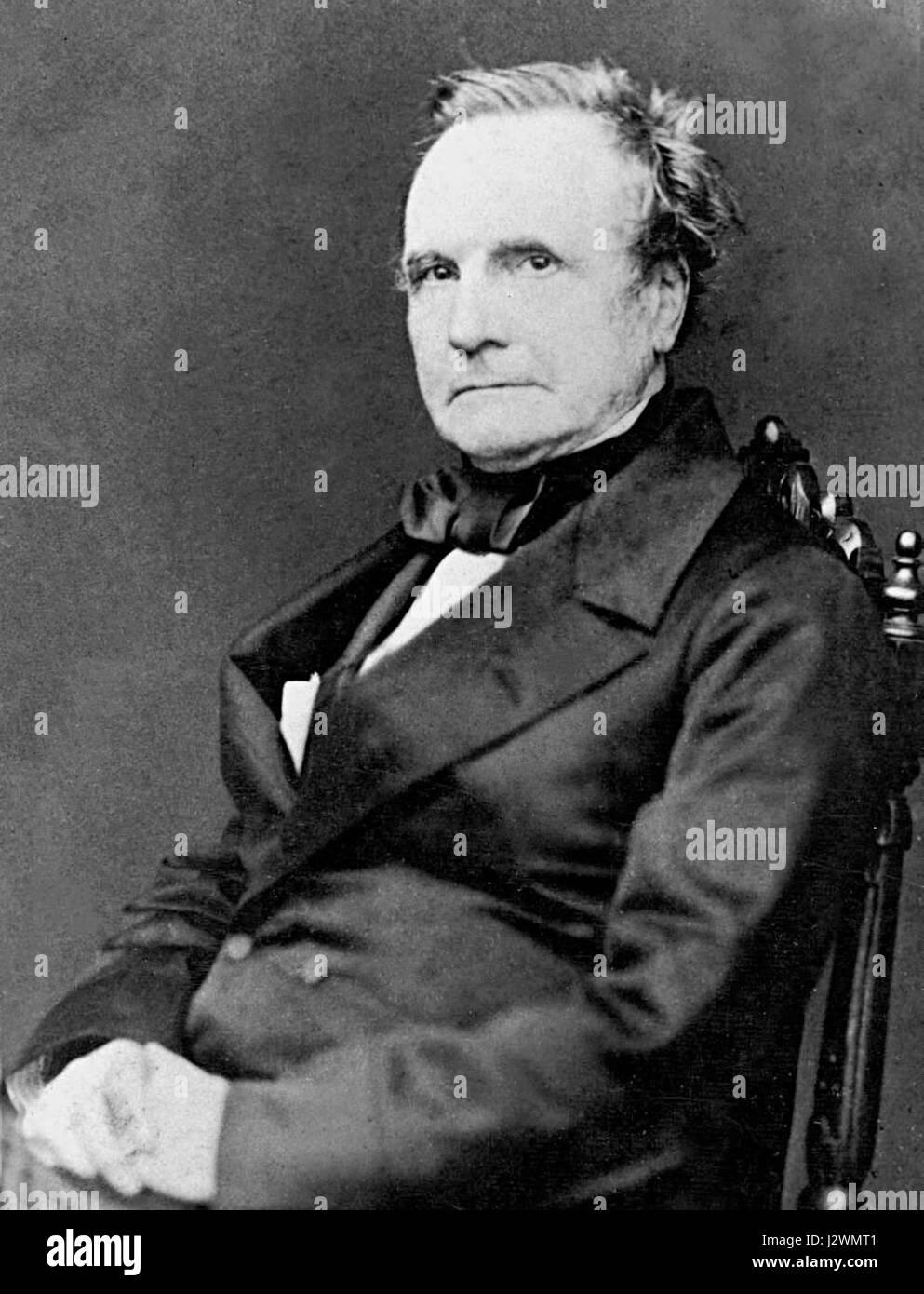 Charles Babbage - 1860 - Stock Image