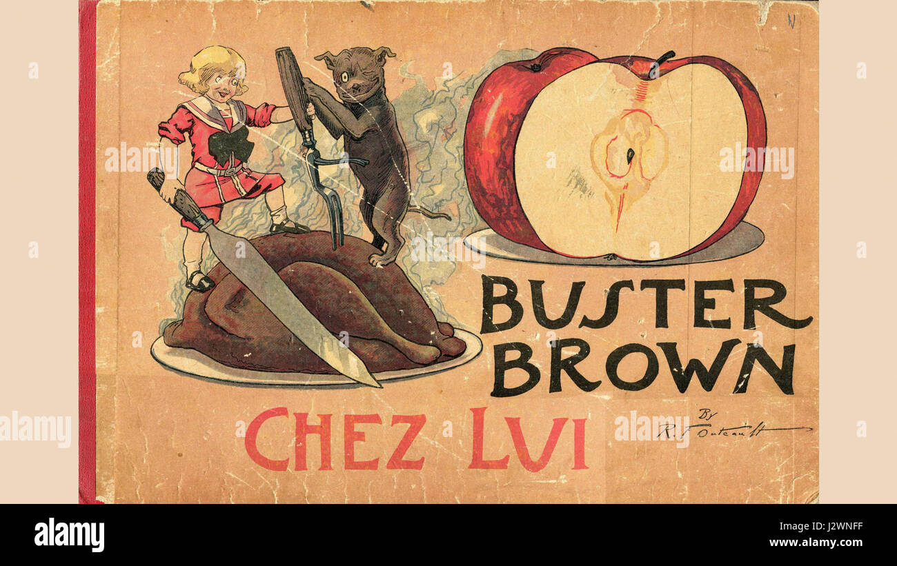 Buster Brown chez lui - Stock Image