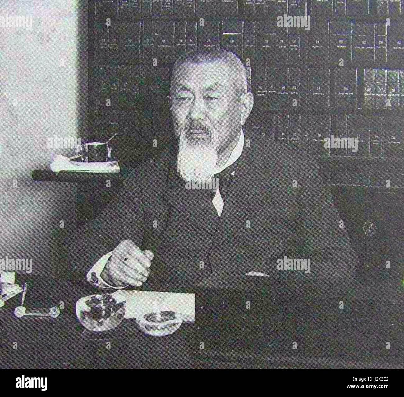 Badmaev P.A. 1913-16 Karl Bulla - Stock Image