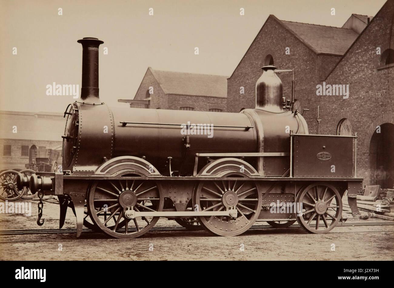 Beyer Peacock - Madras Railway No 425 - Stock Image