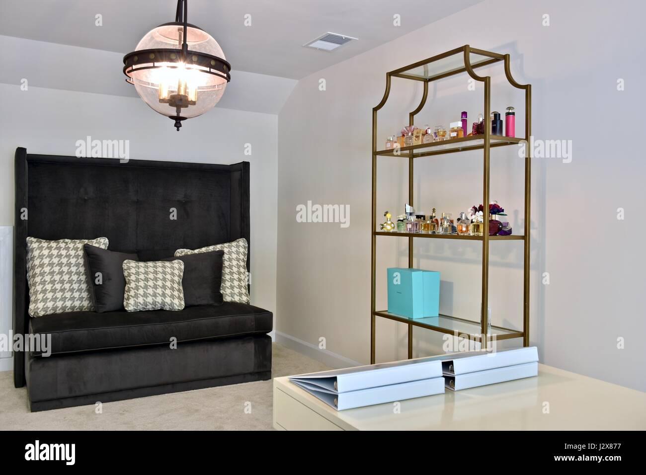 office sleeper ideas decorated upstairs office loft with sofa sleeper stock image sleeper sofa photos images alamy