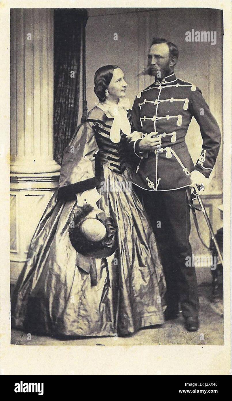 Bild Auguste und Hieronimus v.d. Decken Stock Photo