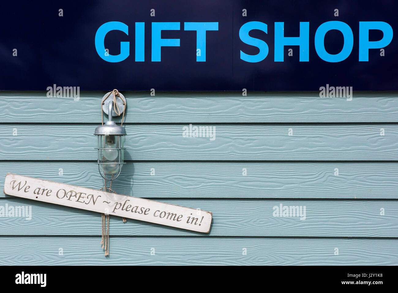 sign for a gift shop signs open information nobody stock photo