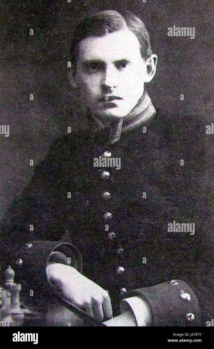 Aliochin A.A. 1909 Karl Bulla - Stock Image