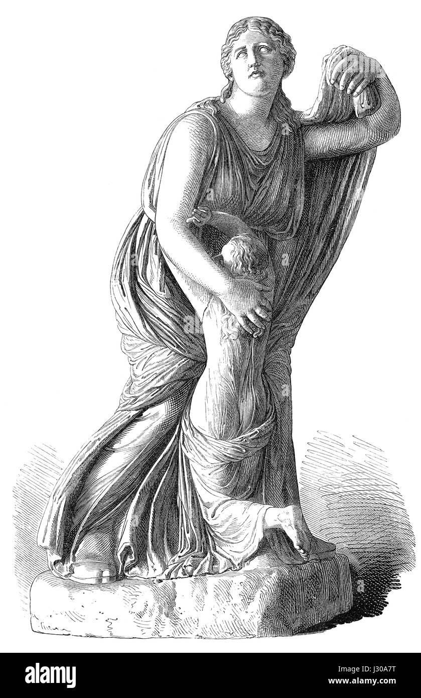 Niobe, Greek mythology - Stock Image